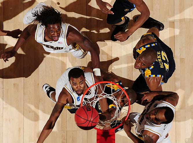 Missouri rallies past Marquette in the final seconds.
