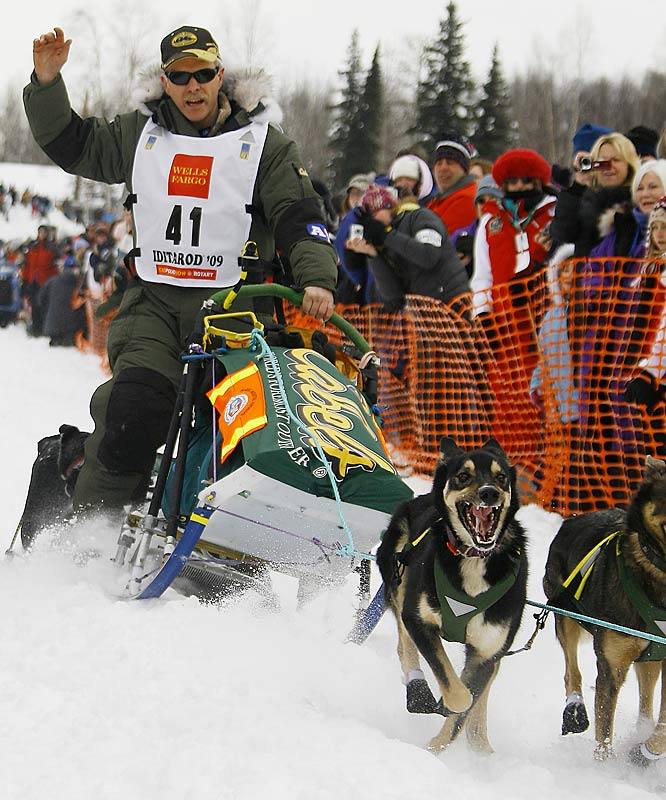 Four-time Iditarod champion Jeff King is one win away from tying the record for most titles.