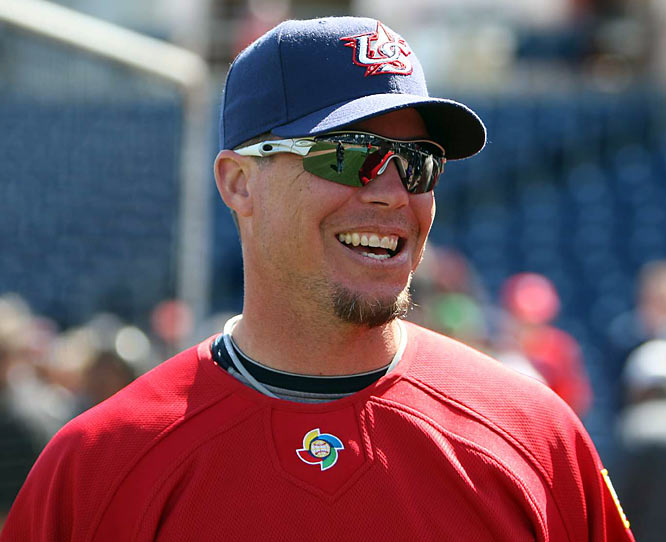 Along with the Mets' David Wright, Braves third baseman Chipper Jones will man the hot corner for Team USA. It is Jones' second appearance in the WBC.