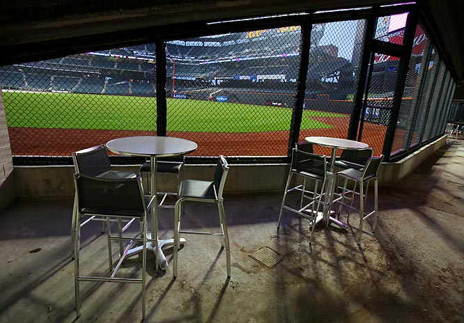 Modell's Clubhouse offers groups an eye-level view of the game.