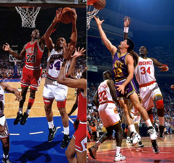 In the 1984 draft, Sam Bowie (No. 2 pick) and Sam Perkins (No. 4) had some pretty good company in the top five: Hakeem Olajuwon (No. 1), Michael Jordan (No. 3) and Charles Barkley (No. 5). In addition, John Stockton was a steal at No. 16. Former All-Stars Alvin Robertson (No. 7) and Kevin Willis (No. 11), along with ex-Blazers standout Jerome Kersey (No. 46), helped round out the class.