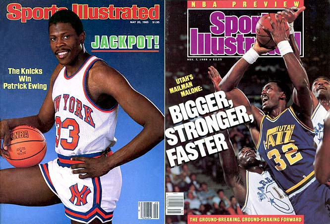 The Knicks landed Patrick Ewing in the first year of the draft lottery, but the Warriors (Chris Mullin at No. 7), Jazz (Karl Malone at No. 13) and Pistons (Joe Dumars at No. 18) weren't complaining, either. Xavier McDaniel (No. 4), Detlef Schrempf (No. 8), Charles Oakley (No. 9) and Terry Porter (No. 24) helped make up for Jon Koncak (No. 4) and Joe Kleine (No. 5).