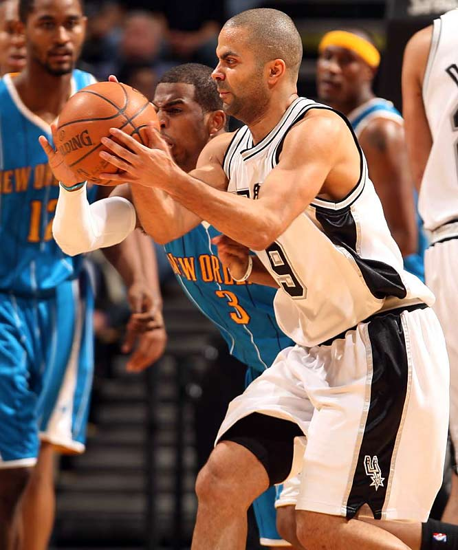Another game with seeding implications in the West playoff race. New Orleans came into the week trailing third-seeded San Antonio by only one game. Chris Paul and Tony Parker are both averaging at least 25 points a game in March.