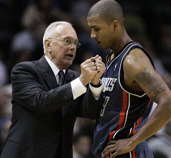 With a tough schedule looming in April, coach Larry Brown badly needs a victory against one of his former teams as Charlotte chases its first playoff berth in franchise history.