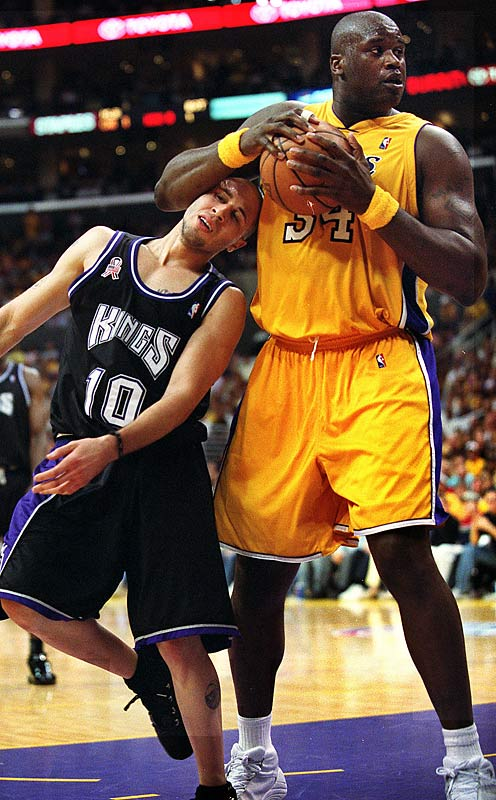 "Shaq took issue when Bibby of the ""Sacramento Queens"" -- as O'Neal was fond of calling one of the Lakers' main rivals from their championship seasons in the early 2000s -- was named to the 2004 Olympic team ""Any Cub Scout [Bibby] with Boy Scouts [the Kings] can do Boy Scoutish things,"" Shaq said. ""But when the [bleep] was in the Cub Scouts, he was a Cub Scout. When the [bleep] was in Vancouver, nobody hears about his punk [butt]. Now since he's on Sacramento ... That's some [mess] that he's on the team."""