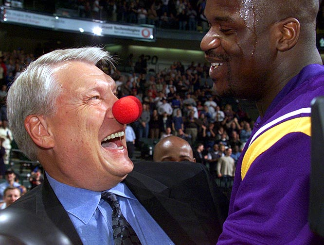 "O'Neal labeled Nelson a ""clown coach"" for employing the Hack-a-Shaq strategy. Nellie responded by wearing a clown nose before a Lakers-Mavericks game in 2001."