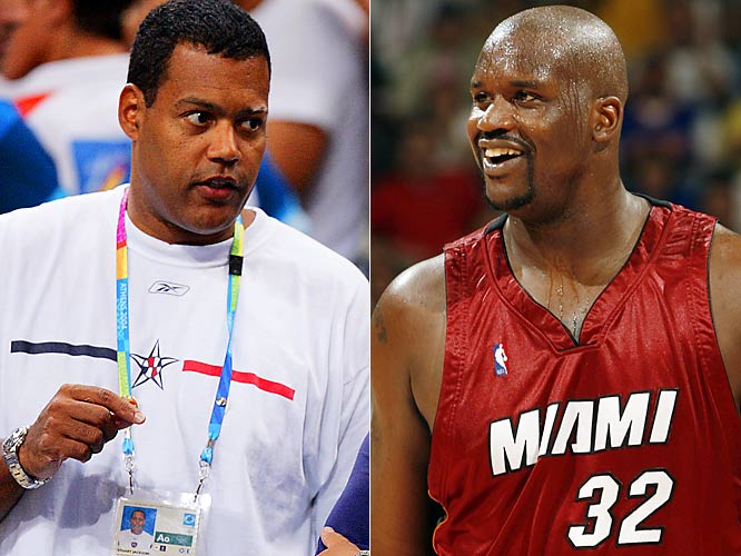 "In March 2006, Shaq called out the NBA's discipline czar for upgrading his foul on Andres Nocioni to a flagrant-2 foul, which carried a $5,000 fine. ""'When I retire, I'm going after his job,'' O'Neal said. ""If I don't make sheriff, I'm going after his job. He's not that good. You can quote me on that."""