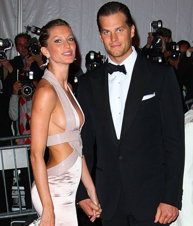 So, Tom and Gisele finally tied the knot. No, really, this time it's for real. Yes, I know every tabloid reported that they got married like three times since Christmas, but this time there are pictures to prove it. Now that he has Gisele by his side and Matt Cassel got traded away to Kansas City, Brady perhaps can forget all the distractions and finally go back to playing football.