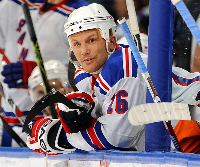 Back with the Rangers, the NHL's former bad boy has been surprisingly tame and unusually boring. There goes one of the few intriguing characters left in hockey.