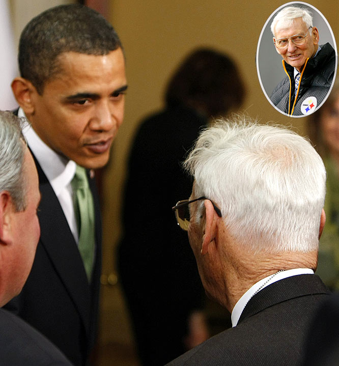 Now we can see why President Obama took the politically incorrect route and said he was rooting for the Pittsburgh Steelers in the Super Bowl. Obama recently selected Steelers owner Dan Rooney to be the U.S. ambassador to Ireland. Maybe he could offer up similar roles in his administration to sports owners as an incentive for them to win championships.