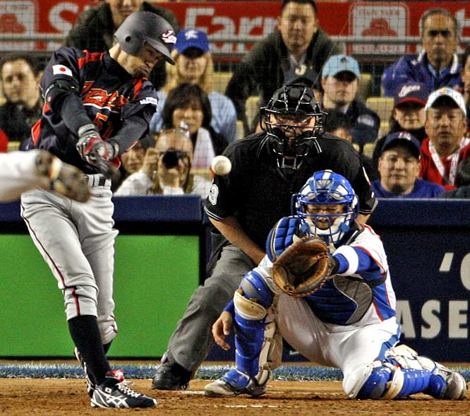 If you couldn't get into the thrilling 10-inning finale to the World Baseball Classic between Japan and Korea, you likely will never get into the WBC. To be honest, if you didn't like that game, you probably don't like baseball. Dodger Stadium has never been louder than when Ichiro Suzuki hit the game-winning, two-run double in the top of the 10th to give Japan its second straight WBC title.
