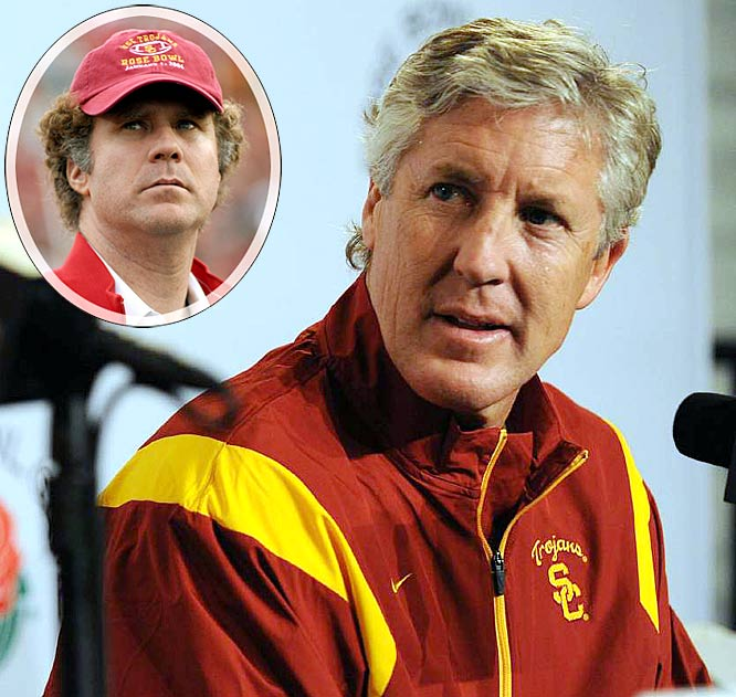 With spring practice underway, how worried is Pete Carroll about next season? He's on a mission to get Will Ferrell on Twitter, recording a message on his Web site and going around campus getting students to plead with the actor to join the social network. Quarterback controversy? What quarterback controversy?
