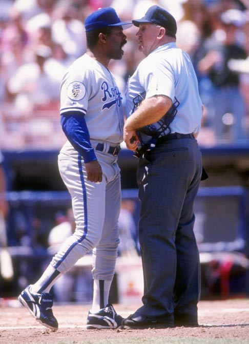 In a Royals preseason game, Hal McRae (pictured) and his son Brian play together against the Phillies. Kansas City manager Dick Howser refers to the event as the 'Big Mac Attack'.