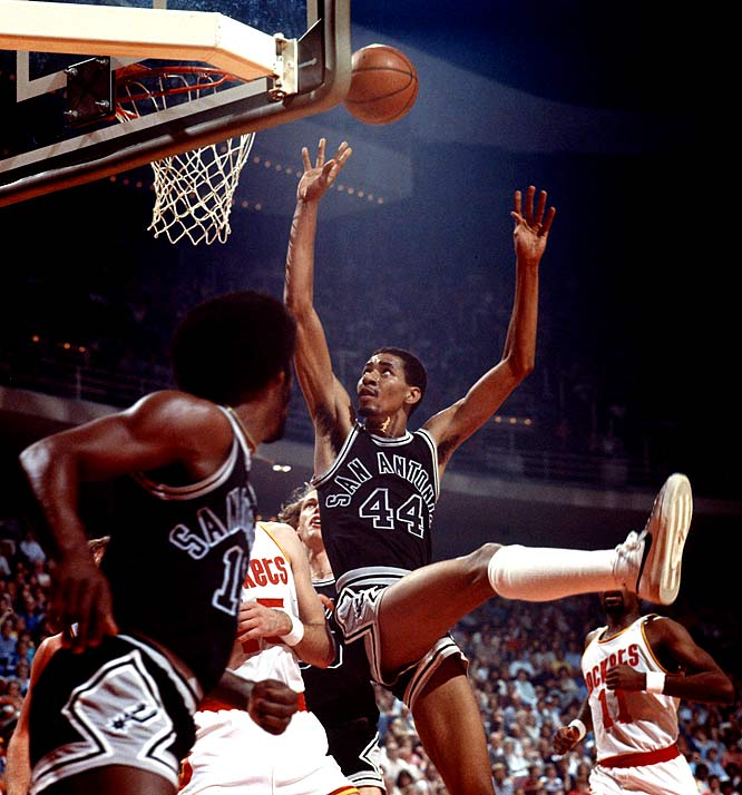 San Antonio's George Gervin becomes the fifth player to win at least three consecutive scoring titles, joining George Mikan, Neil Johnston, Wilt Chamberlain and Bob McAdoo. Michael Jordan would later join that select circle.