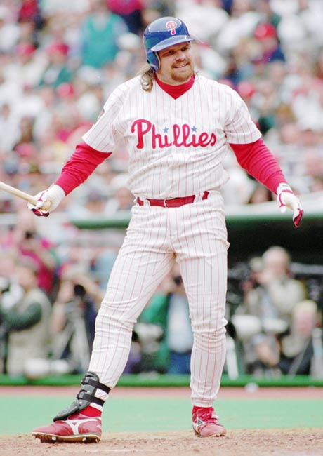 Philadelphia 1B John Kruk is diagnosed with testicular cancer.