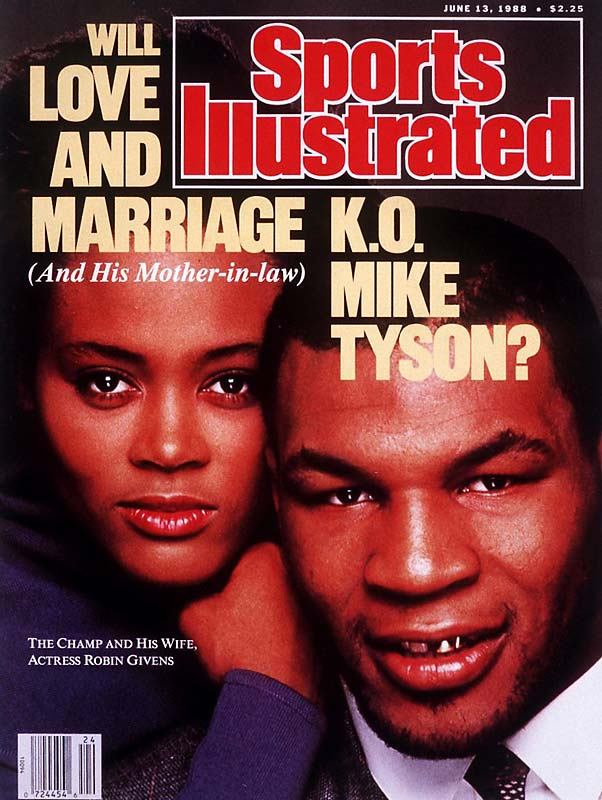 By the summer of 1988, Mike Tyson was the world's best boxer. However, he was making more headlines for his marriage to actress Robin Givens. The couple barely lasted two years, but thanks to this cover and a memorable interview with Barbara Walters, the couple's marriage remains one of the most memorable unions between a sports figure and an actor.