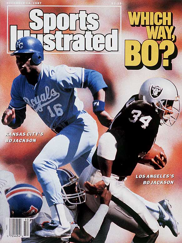 The most famous two-sport athlete of them all, Bo Jackson played running back for the Raiders and patrolled left field for the Royals, White Sox and Angels. Besides winning the Heisman, Jackson was the first athlete to be an all-star in two major sports. Unfortunately, a serious hip injury ended his NFL career, and despite a return to baseball on an artificial hip, he never was the same. Jackson retired in 1994 and currently runs the Bo Jackson Elite Sports Complex in suburban Chicago.