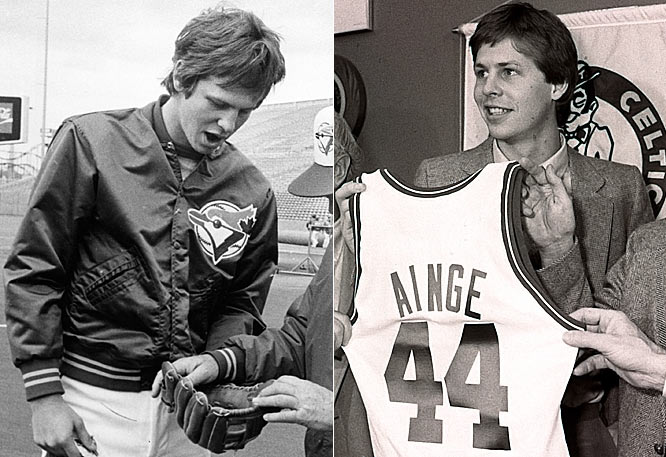 After capping a successful college career at Brigham Young, where he won the Wooden Award for the nation's most outstanding player, Ainge chose baseball and played four mediocre seasons with the Blue Jays. He changed course in 1981, and was drafted by the Celtics, where he played nine seasons and won two championships. He is currently the general manager of the C's.