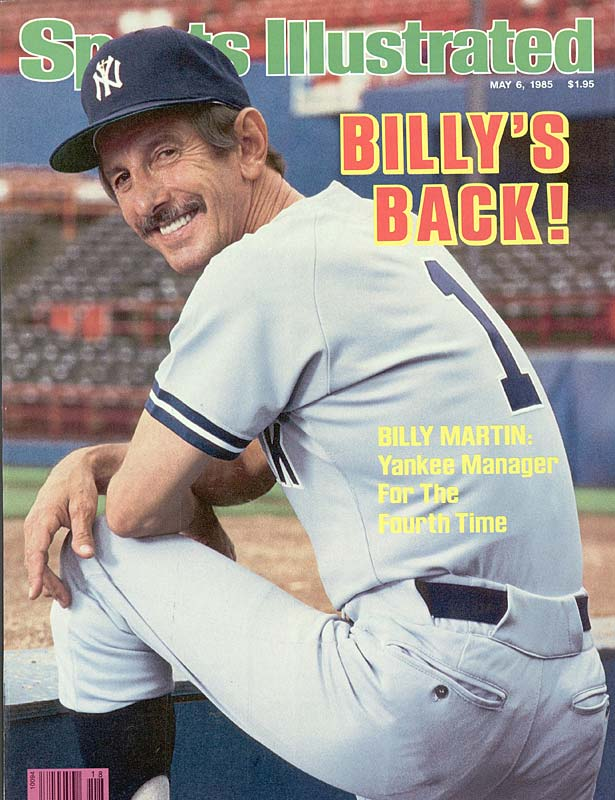 Billy Martin was named the manager of the New York Yankees for the fourth time.