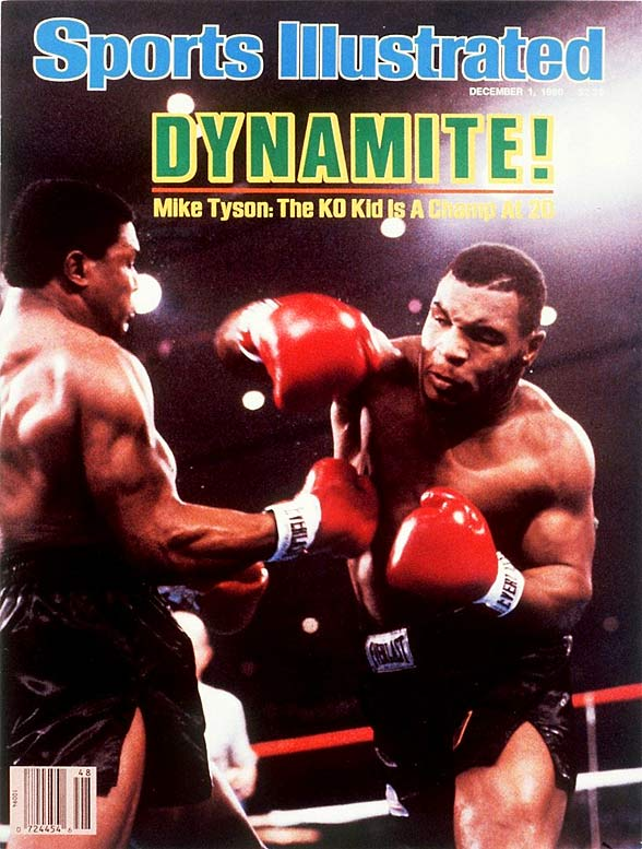 Tyson got his first shot at a title on Nov. 22, 1986, against Trevor Berbick, the WBC heavyweight champion. Only 20 years, 4 months at the time, Tyson won by TKO in the second round to become the youngest heavyweight champ in history.