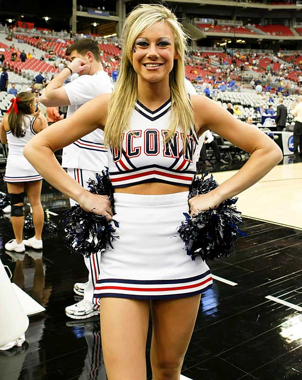 Meet Kaitlin, a University of Connecticut senior and the captain of the Huskies cheerleadering squad. Kaitlin, who loves all things ''One Tree Hill,'' once took a bad fall while doing a cheer.<br><br>Want to find out more? <br>Click the '20 Questions' link below.