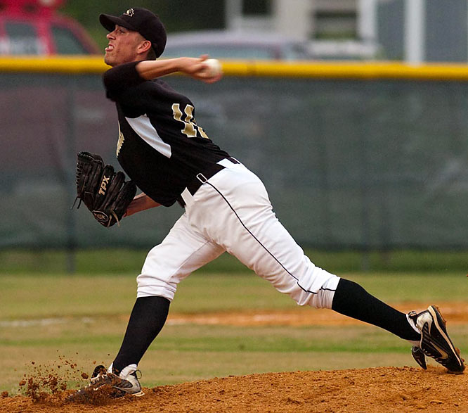 Schuster, whose fastball tops 90 mph, struck out 17 in the 5-0 victory over Pasco High.