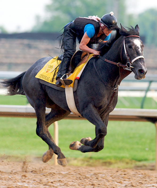 Post Position: 12<br>Jockey: Julien Leparoux<br>Trainer: Tom McCarthy<br><br>The big gray colt is nothing if not versatile, winning Derby preps on dirt at Tampa Bay and on a synthetic surface at Keeneland. His pedigree isn't the best for the Derby, but he's plenty game and has actually flashed the kind of speed necessary to win.