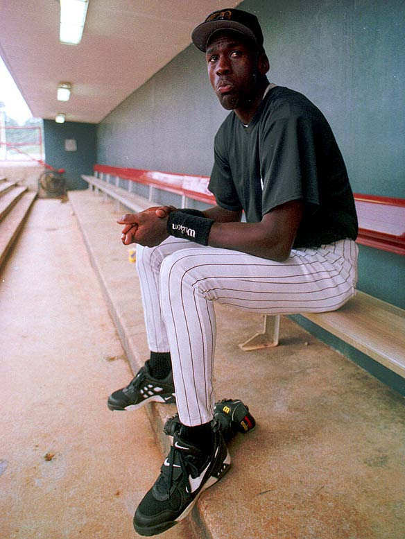 "In February 1994, four months after the first of his three retirements from the NBA, Michael Jordan signed a minor league contract with the Chicago White Sox. Jordan had last played baseball as a high school senior in 1981. His father, James, who was murdered the previous summer, had always wanted Jordan to be a baseball player. ""You tell me I can't do something,"" Jordan said, ""and I'm going to do it."""