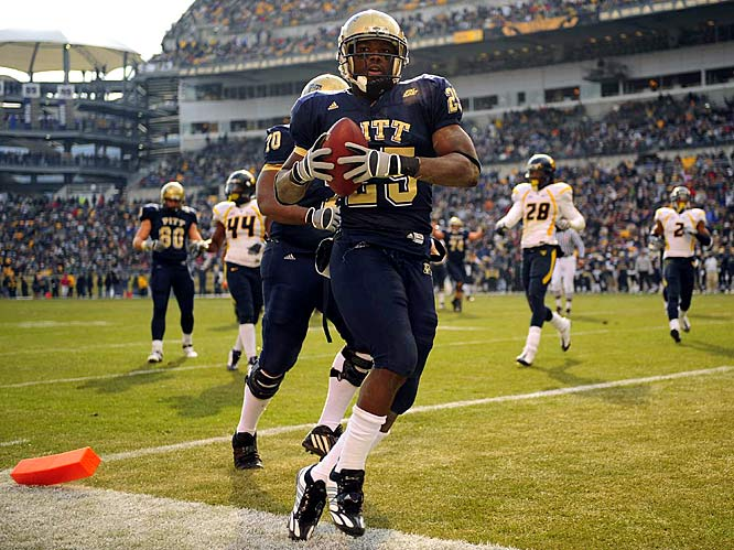 He was a terrific college running back but projects as a situational runner in the NFL.