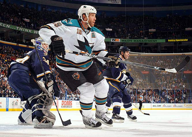 He may be under as much scrutiny as Chris Osgood. Thornton is aces in the regular season, but has never proved capable of being an impact player in the playoffs. After three straight second-round flameouts, the Sharks need Jumbo Joe to truly come up big.