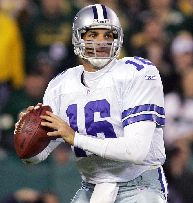 Vinny Testaverde did the 2,500-yards-to-new-team feat four times in his career. The last was after a 2004 season in which he threw for 3,532 yards and 17 touchdowns for the 6-10 Cowboys. Testaverde played three more seasons in the NFL (Jets, Patriots, Panthers), never throwing for more than 952 yards. In the three earlier instances, his best showing was when he passed for 4,177 yards in Baltimore, a year after having thrown for 2,883 in Cleveland.