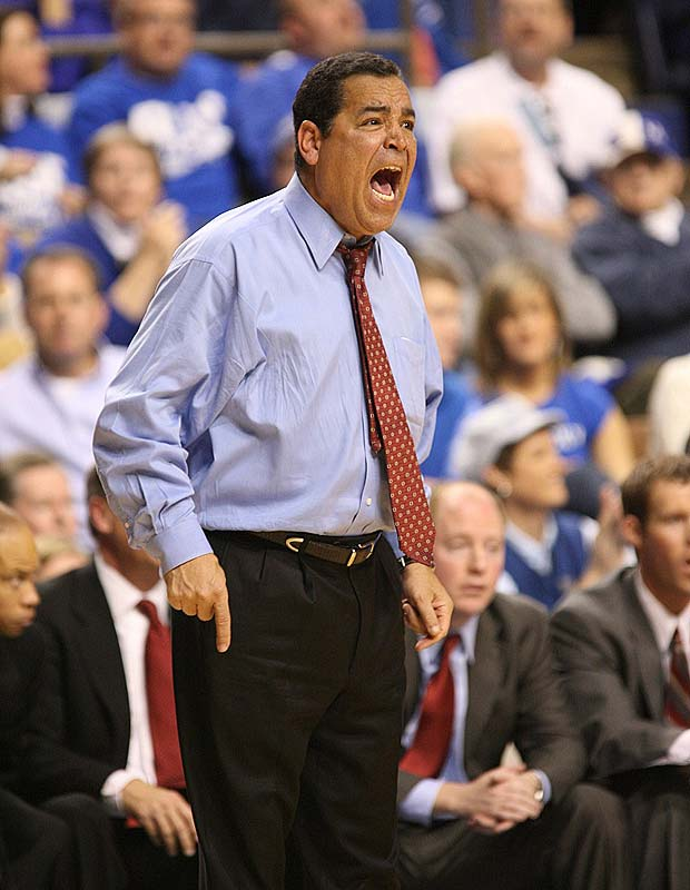 After being penalized by the NCAA for making illegal recruiting calls, Kelvin Sampson was named the new coach at one of college basketball's most historic programs.  When he resigned in 2008, he left the Hoosiers under the worst NCAA sanctions in school history.