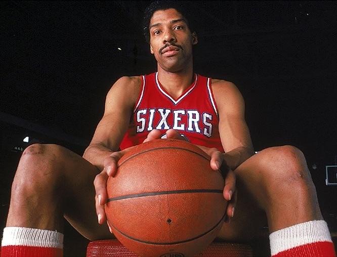 Philadelphia's Julius Erving becomes the third NBA player to score 30,000 points.