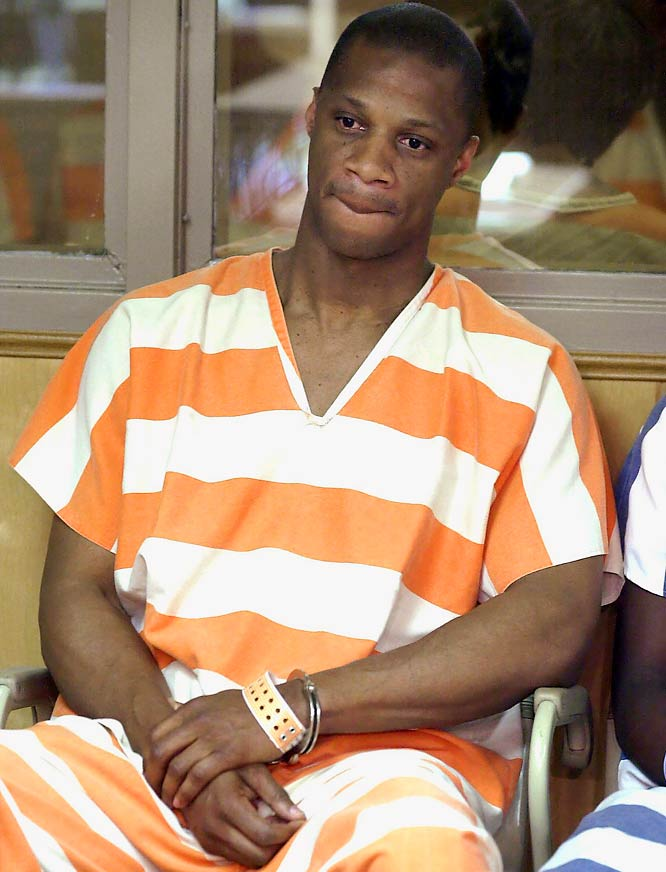 Darryl Strawberry is sentenced to 18 months in prison for violating his probation on a 1999 conviction on drug and solicitation of prostitution charges.