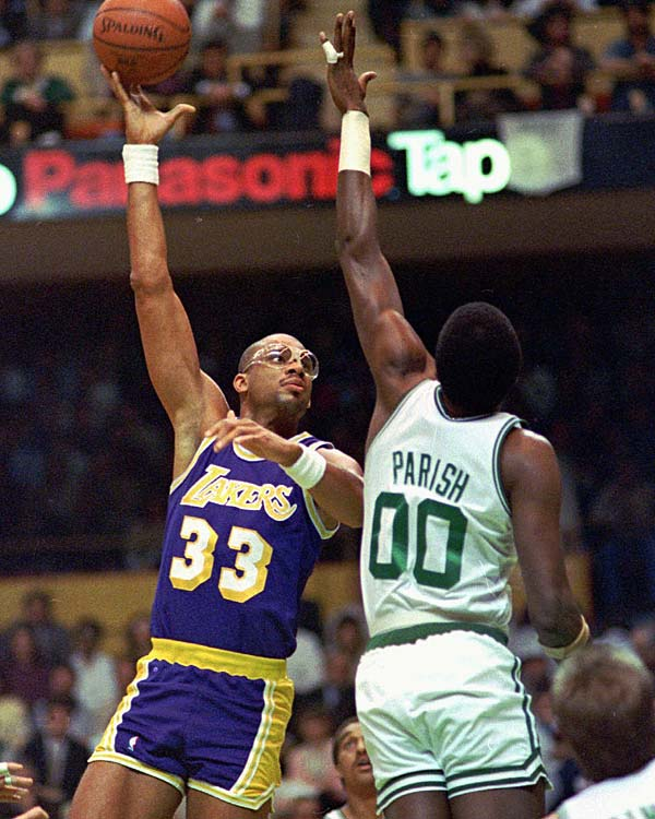 Kareem Abdul-Jabbar played his last regular season game in the NBA.