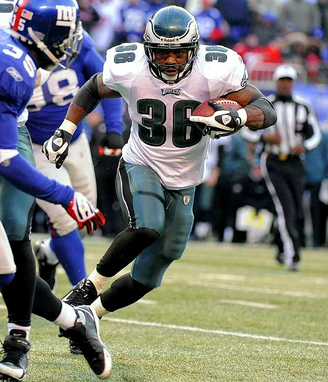 Eagles running back Brian Westbrook missed one game last year with a high ankle sprain, had minor knee surgery after Philly lost in the NFC championship game and is now scheduled to have surgery on his right ankle. The Eagles can ill-afford to be without their injury-prone star for too long.