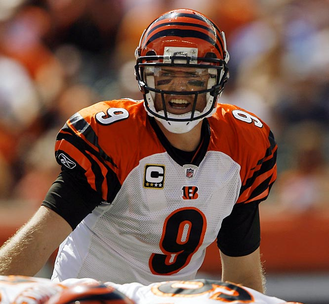 A partially torn tendon and ligament in his throwing arm forced Palmer to miss 12 games last season. He opted against Tommy John surgery, choosing to shut things down and hope that an extended rest would help. So far, so good. But as he goes, so do the Bengals.