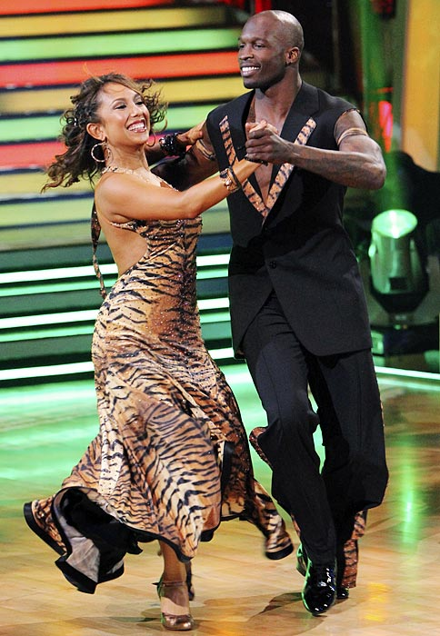 No stranger to reality TV, Ochocinco appeared on the 10th season of  Dancing With The Stars  alongside two-time champion Cheryl Burke.  Despite Burke's pedigree, Ochocinco couldn't crack the final three.