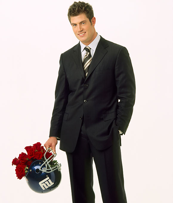 The former Florida Gators and New York Giants quarterback selected Jessica Bowlin, a 22-year-old California law student, from the 25 women competing for his affection on the fifth season of this show. He chose not to propose to her on the show, however, and a few weeks later they broke up.