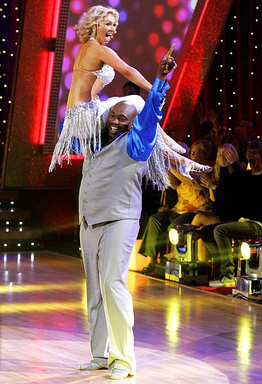 Who says a 300-pound former football player can't be graceful? Sapp made it to the finals of Dancing With The Stars in December 2008 before losing to Brooke Burke.