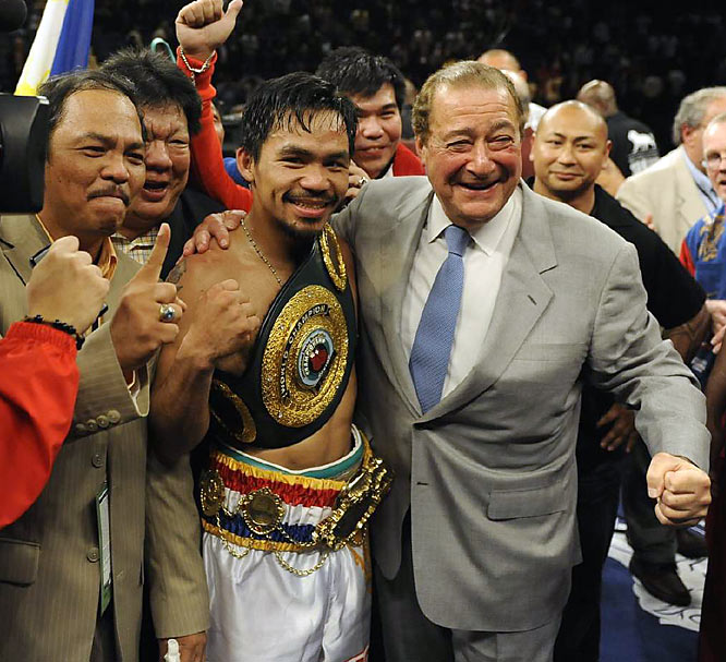 A national hero in the Philippines, Pacquiao is quickly winning over a legion of new fans.
