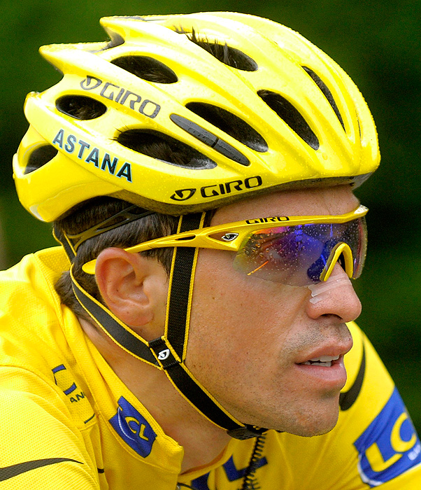 Alberto Contador, winner of the 2010 Tour de France, lost his title on February 6, 2012 when the CAS found him guilty for doping. Contador's drug test on the July 21 rest day of the 2010 Tour showed high levels of clenbuterol, which Contador blamed on the meat he ate in Spain. After an investigation, Spain's cycling governing body initially cleared him in February 2011, but the UCI and WADA appealed the decision. A year later, the CAS has imposed a back-dated two-year ban and removal of all titles won since January 25, 2011, the day the Spanish federation proposed a one-year ban. Contador will be eligible to ride again on Aug. 6, forcing him to miss the Giro d'Italia, the Tour de France and the London Olympics.