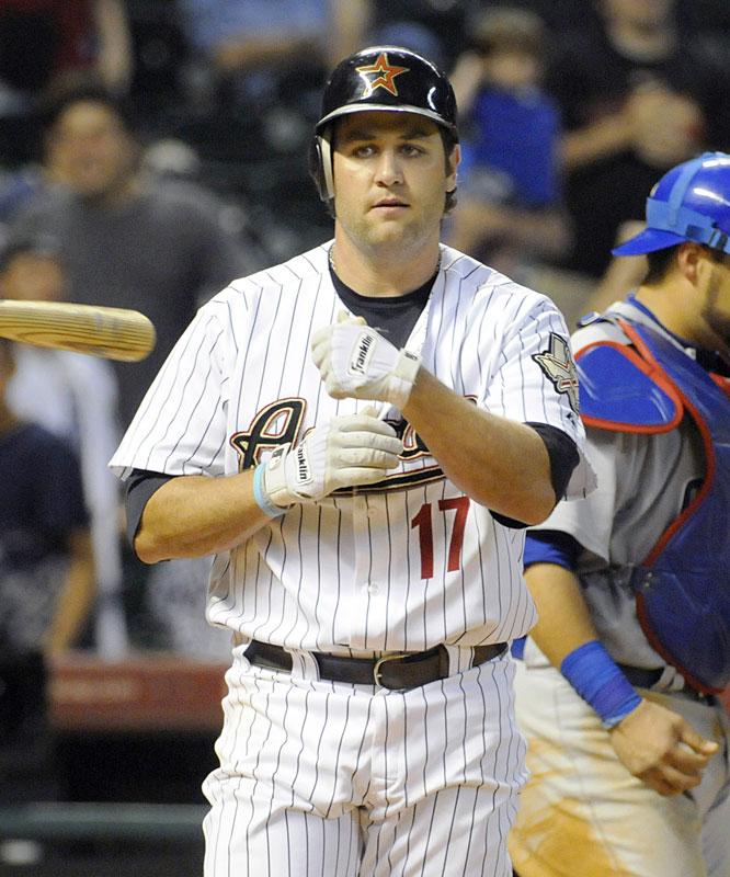 DUD: .188 average (3-for-16), 2 runs, 1 HR, 3 RBIs, 0 steals