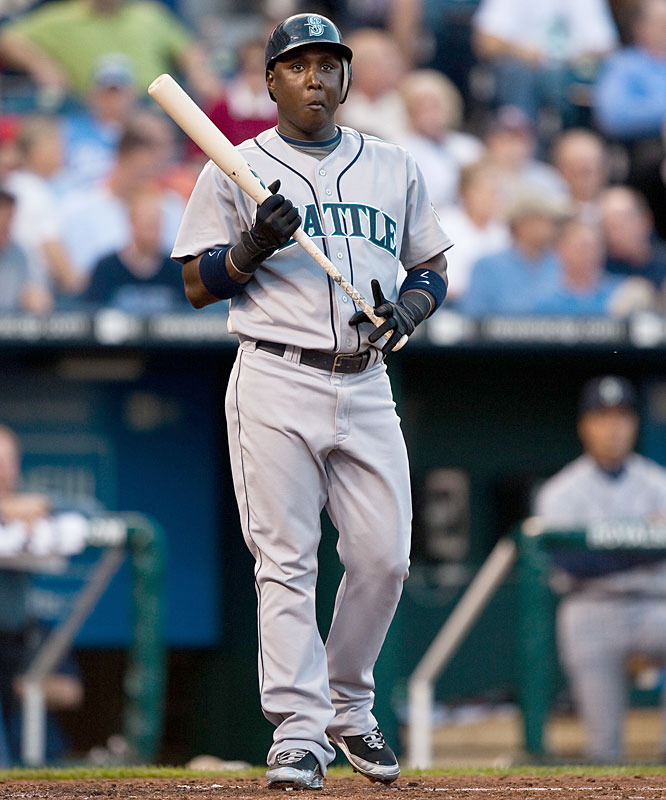 DUD: .136 average (3-for-22), 0 runs, 0 HRs, 0 RBIs, 0 steals, zero extra-base hits