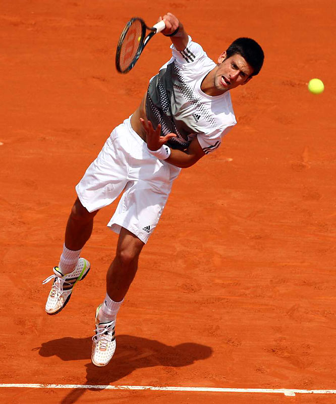 Djokovic has endured a number of agonizingly near misses against Rafael Nadal during clay-court season, including last week's four-hour epic in the Madrid Masters semifinals. Many observers believe he's got the best chance of unseating Nadal from the Roland Garros throne.