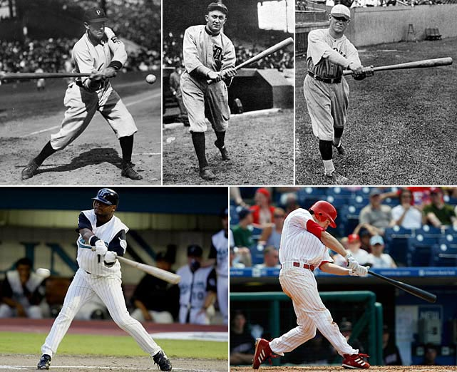 Five different players have compiled streaks that lasted 35 games total. Clarke was a premier hitter in his time -- batting over .300 in 11 different seasons -- and was inducted to the Hall of Fame in 1945. For Cobb and Sisler, this was only the second-longest hitting streak of their careers (Cobb made it to 40 games in 1911, and Sisler made it to 41 games in 1922). Castillo's streak is the longest ever by a Latin player and is tied for the longest ever by a second baseman with Chase Utley.