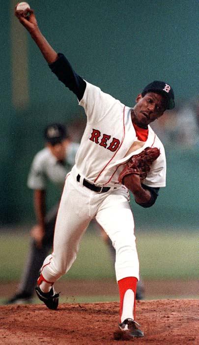 "Known for his fiery temper on the mound, Boyd earned his nickname in his native Mississippi, where ""oil"" is slang for beer. The name stuck and Boyd went on to become one of Boston's most popular athletes in the 1980s."