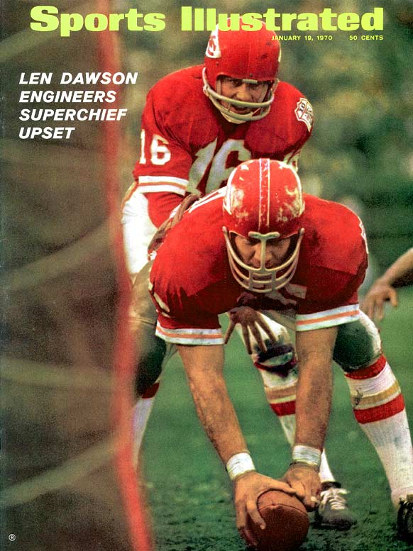 After building a 16-point lead at halftime, Len Dawson and the Chiefs easily defeated Minnesota in front of 80,562 fans inside Tulane Stadium -- a Super Bowl record at the time. Chiefs coach Hank Stram wore a hidden microphone during the game for NFL Films.