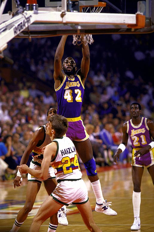 Worthy, a second-year forward, was key to the Lakers' title run, averaging 22 points on 62 percent shooting in the playoffs.