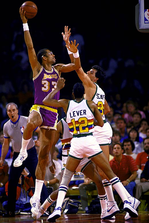 Schayes was given the unenviable task of guarding Abdul-Jabbar. Tempers flared in Game 2, when the two big men scuffled and Abdul-Jabbar was ejected.